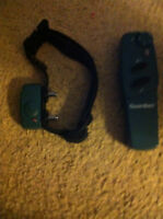Dog/Puppy Guardian Training Collar and Remote