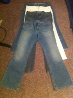 4 pair Brand Name jeans