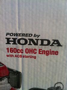 HONDA SELF PROPELLED LAWN MOWER BLACK MAX 21 IN 160CC ZERO TURN Windsor Region Ontario image 2
