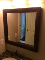 framed quality mirror