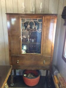 Antique China Cabinet-Tappen BC
