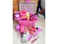 Accessory Box for Horse Grooming