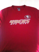 San Francisco 49ers T shirt DRY FIT neuf