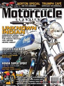 Previosly enjoyed motorcycle magazines for sale