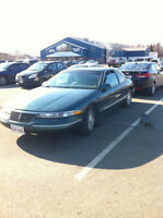 1995 Lincoln Mark 8 Series chrome Coupe (2 door)