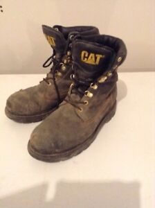 Safety Steel toe Work Boots - size 9