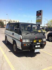 Mitsubishi Delica 1990  manual (rare)(Right hand drive)