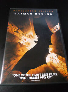 Batman Begins DVD - Widescreen Edition