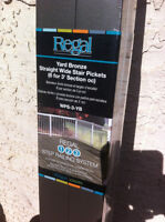 Regal Straight Wide Aluminum Stair Pickets