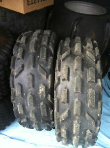 YAMAHA BLACK ITP FRONT WHEELS WITH PURE SPORTS TIRES Windsor Region Ontario image 2