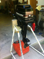 8 H.P. Mercury outboard