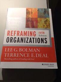 Reframing Organisations