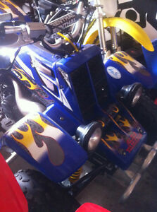 2003 YAMAHA BANSHEE 350 WITH EXTRAS FOR