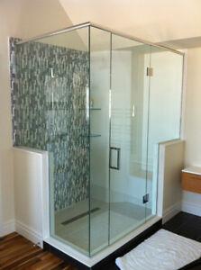 Frameless Glass Shower and Door London Ontario image 5