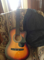 Child's Guitar Like New With Carrying Case