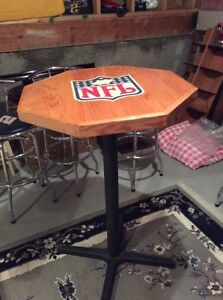 NFL and NASCAR bar tables and chairs Edmonton Edmonton Area image 5