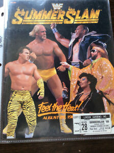 Wrestling Collector Items Magazine Poster