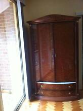 French made and deisgned walnut wardrobe - AS NEW! Darling Point Eastern Suburbs Preview