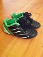 Kids soccer shoes size 12 & 9