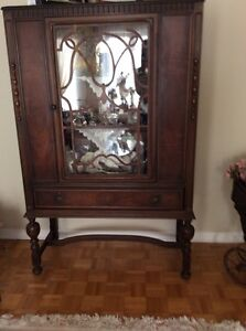 150 year old antique cabinet