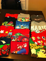 Boy's Size 5 T shirts/long sleeve and short