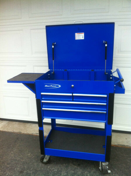 Blue Point Tool Cart >> TOOL CART SHOP CART BLUE POINT SNAP ON | Tool Storage ...
