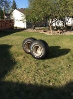 For Sale 2 Mickey Thompson Wheels and Tires