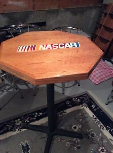 NFL and NASCAR bar tables and chairs Edmonton Edmonton Area image 3