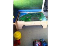 Play train / small world table with drawers