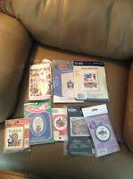 8 Cross Stitch Kits  PPU