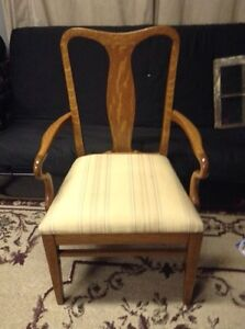 Antique Rolled Oak Chair