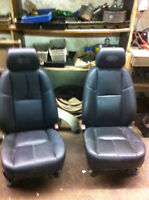 Leather seat package 2009 GMC CREW CAB