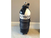15 Litre Faber A Clamp, Dumpy Cylinder - Nitrox