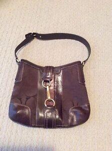 Brown Hobo COACH Bag