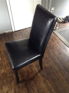 Pleather dining chairs Peterborough Peterborough Area image 1