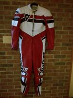 Motorcycle one piece racing leathers