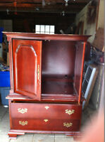 """Redo old armoires/tv cabinets, turn into something beautiful..."""""""