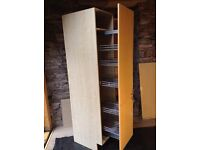 Pull Out Kitchen Larder Cupboard