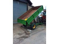 3 Ton Tipping Trailer