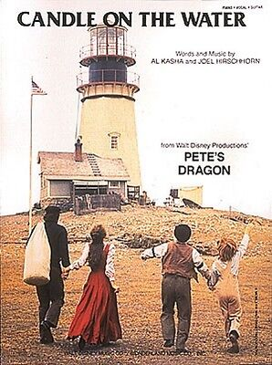 Candle on the Water Sheet Music From Pete's Dragon Piano Vocal NEW  000353317