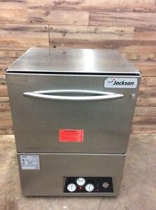Jackson high temp dishwasher