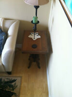 Antique Night or Side Table solid wood.great condition[sackville
