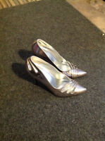 Sexy silver shoes - Size 7