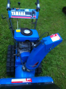 YAMAHA SNOWBLOWER THROWER YS624 WITH  STEEL TANK AND TRACKS Windsor Region Ontario image 5
