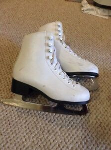 Child's figure skates - size 12 and 11.5