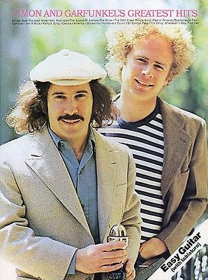 Simon and Garfunkel's Greatest Hits Sheet Music Book NEW 014030201
