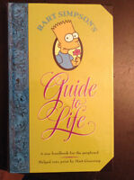 Livre Guide to Life Barth Simpson's