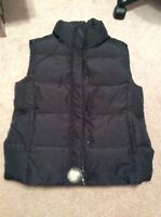 Size L women's down insulated vest - new with tags!