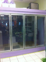 Glass Fridge/Freezer Display Doors