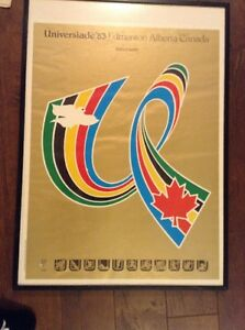 1983 World Universiade Games Collection Edmonton Edmonton Area image 3
